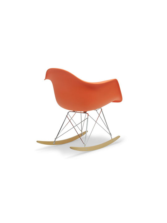 Orange Dock Rocker Rocking Chair 4