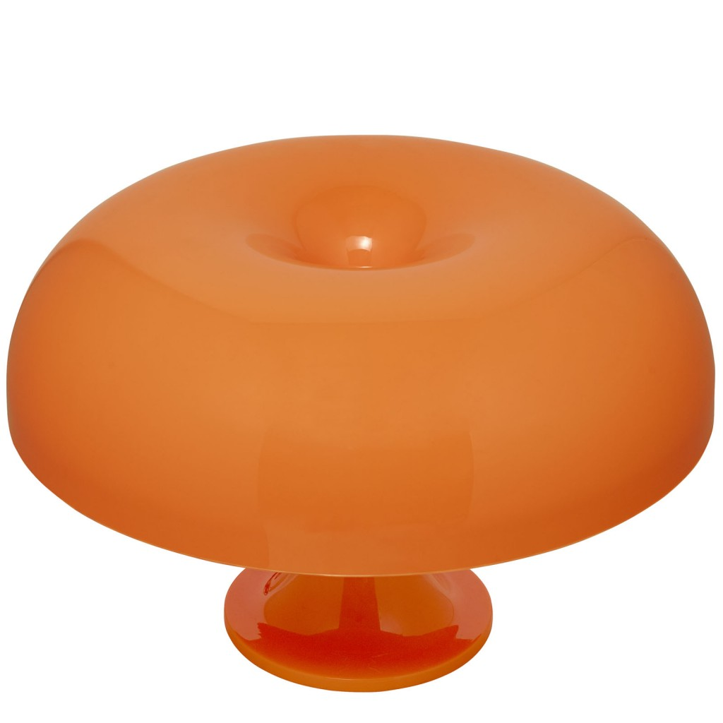 Orange Dome Table Lamp 2