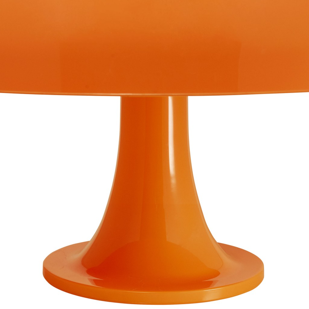 Orange Dome Table Lamp 3
