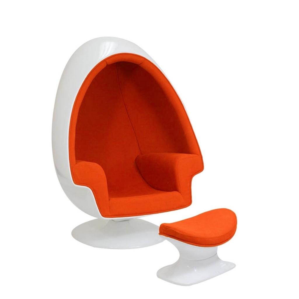 Orange Droplet Lounge Set 3