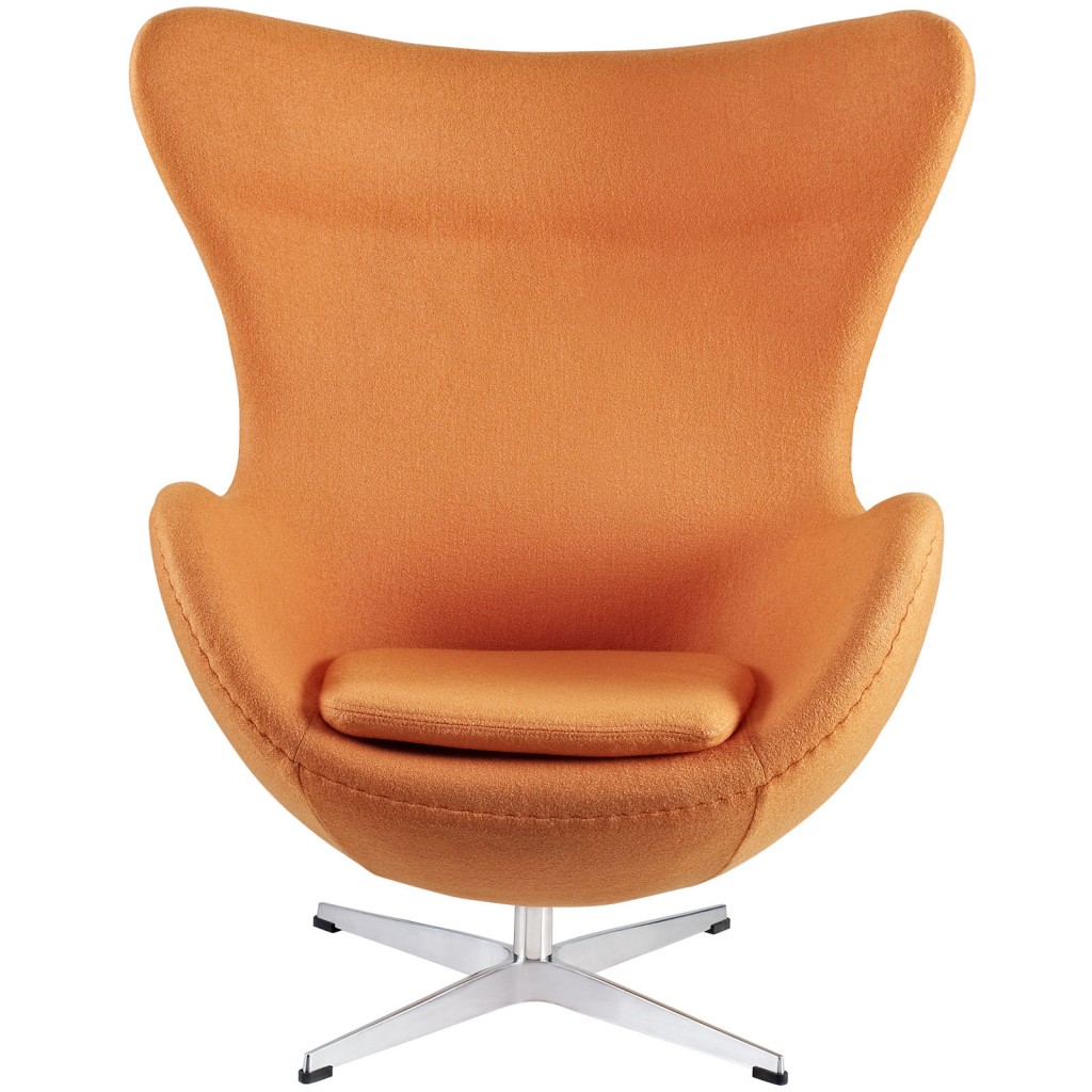Orange Magnum Wool Chair 1
