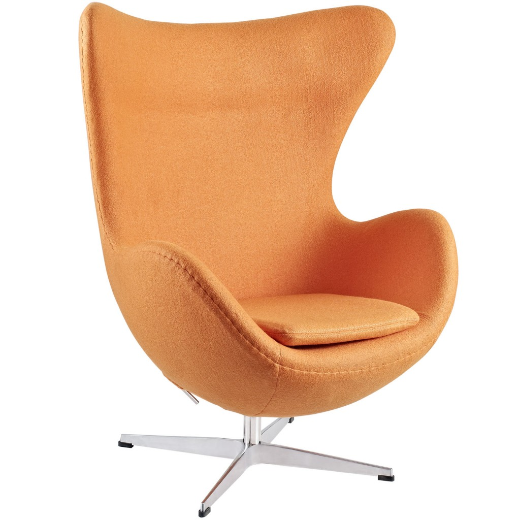 Orange Magnum Wool Chair