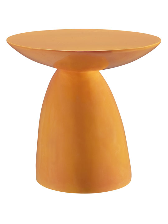 Orange Pebble Side Table 3