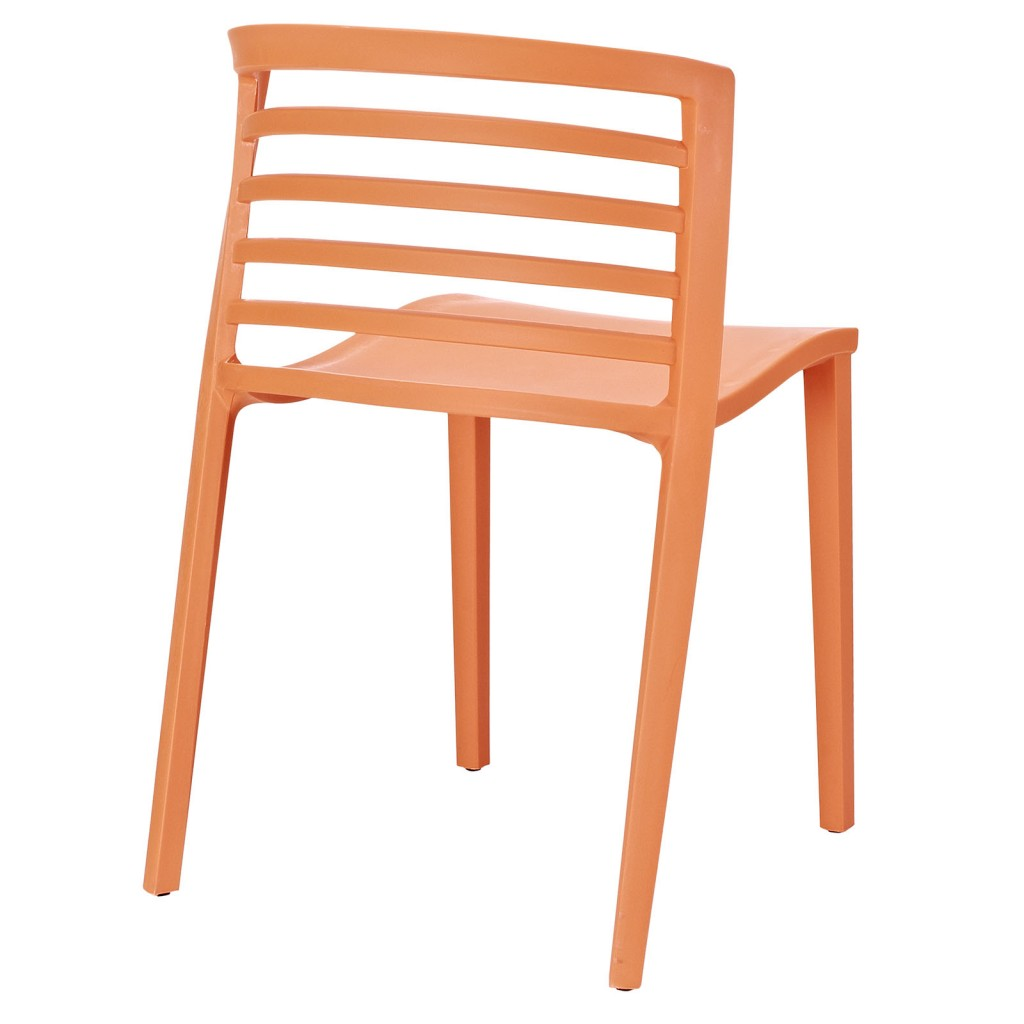 Orange Skeleton Chair 3