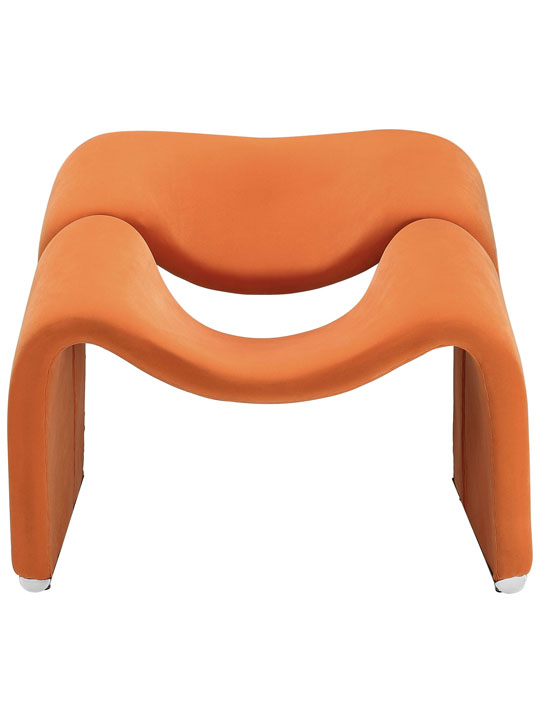 Orange Velocity Armchair 2