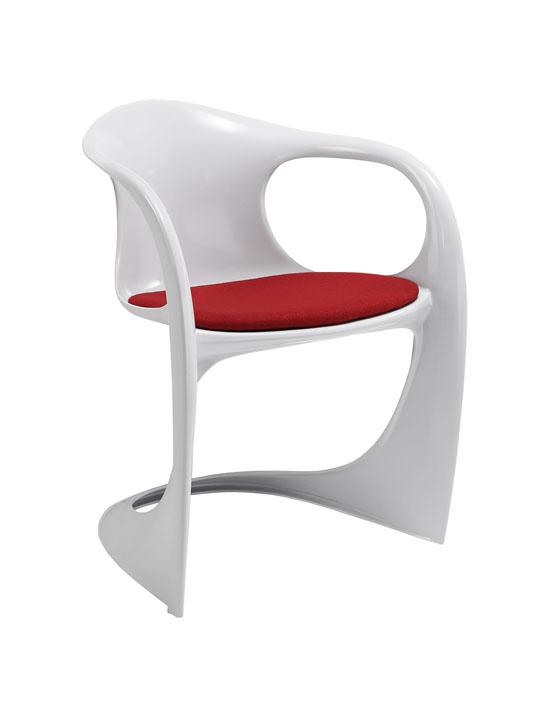 Proto Chair White Black Seating