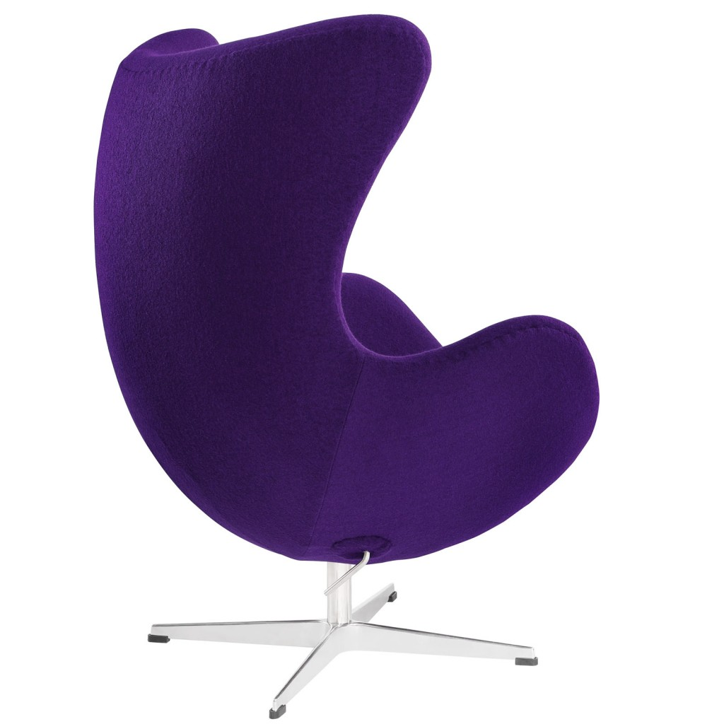 Purple Magnum Wool Chair 2