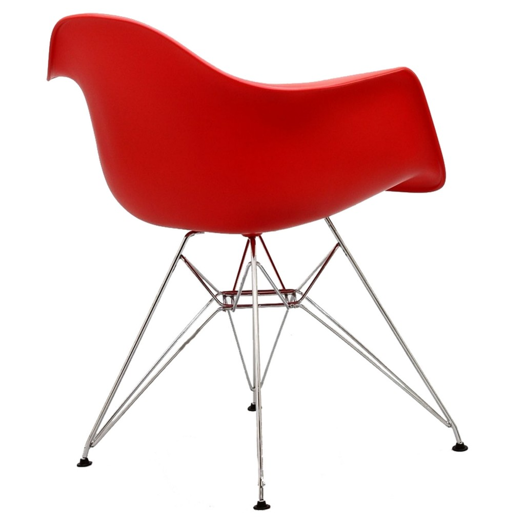 Red Ceremony Wire Armchair 4