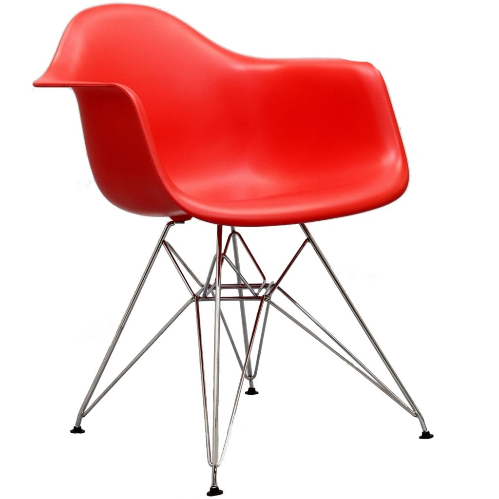 Red Ceremony Wire Armchair