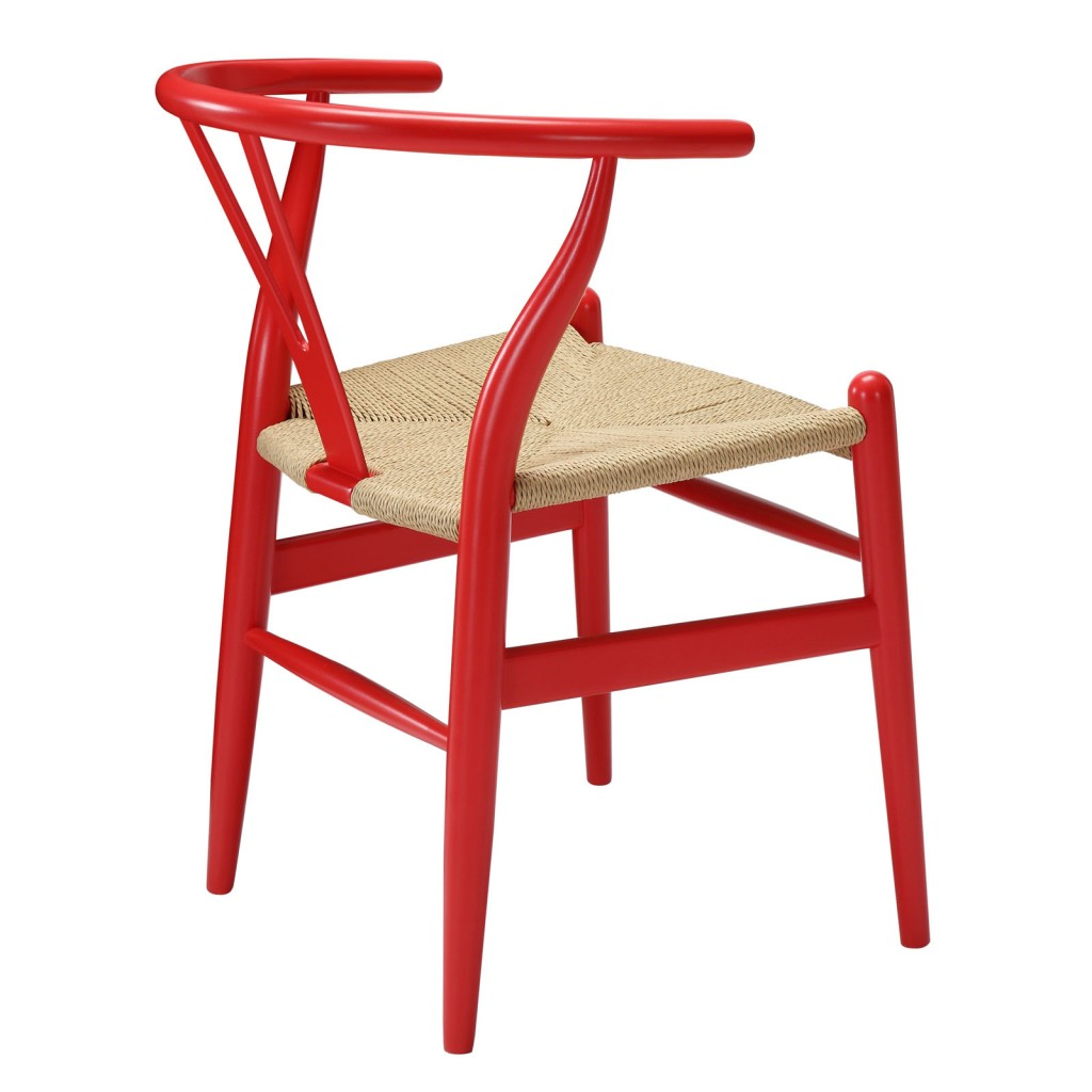 Red Hemp Chair 1