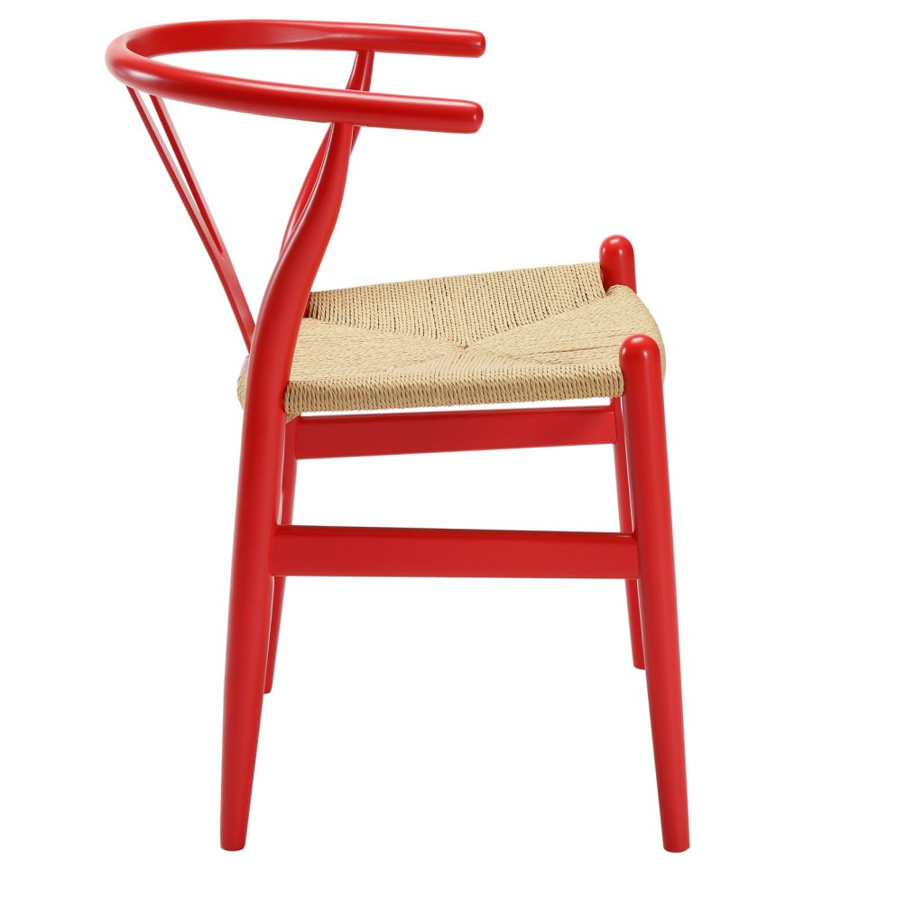Red Hemp Chair 2
