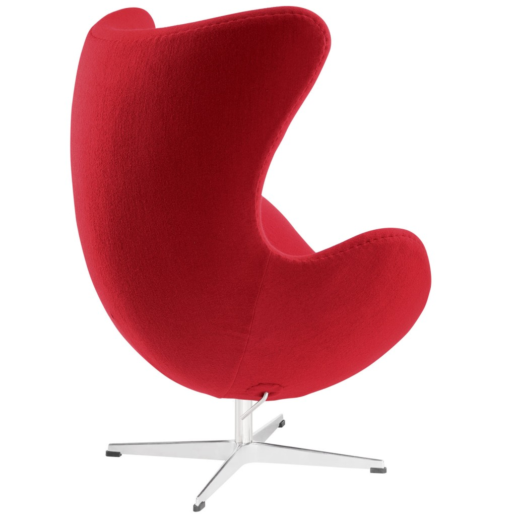 Red Magnum Wool Chair 2