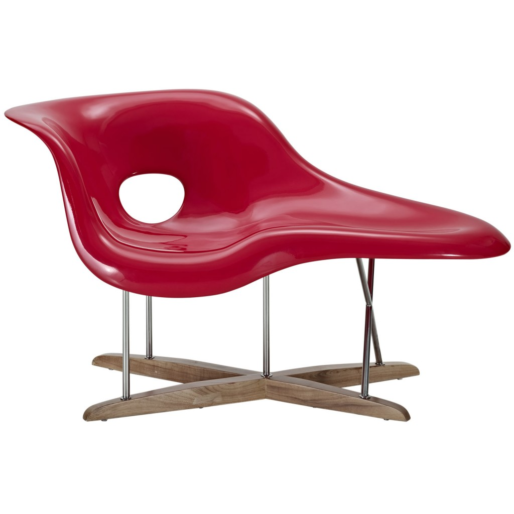 Red Swan Chaise Chair 1