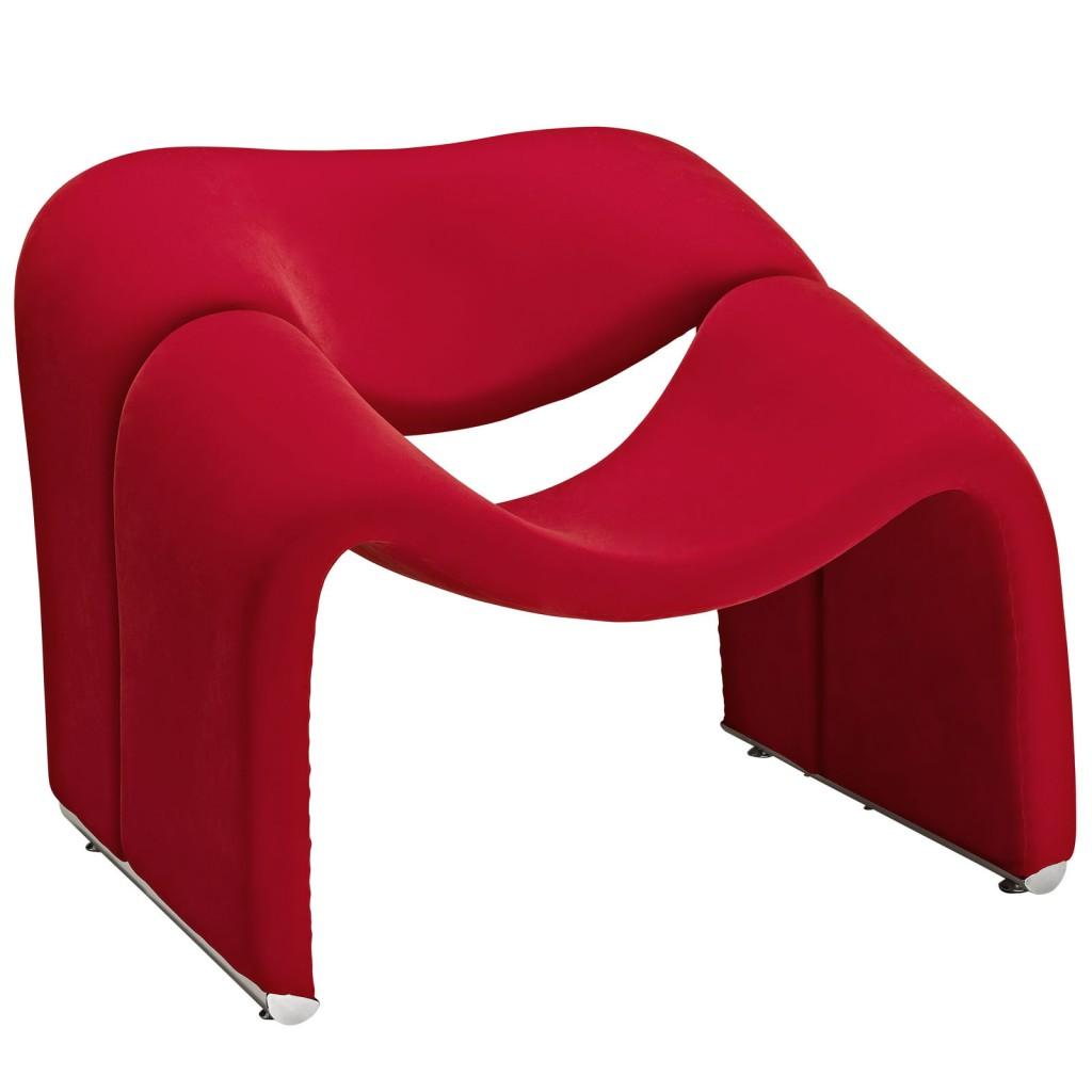Red Velocity Armchair 1