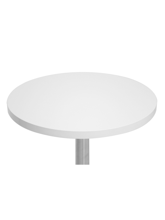 Refresher Medium White Round Table 2