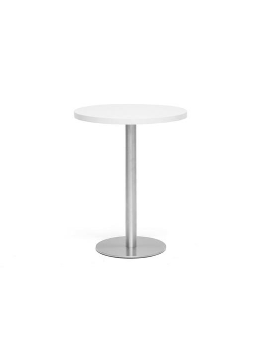 Refresher Medium White Round Table