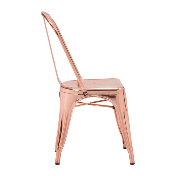 Rose Gold Cooper Chair 2
