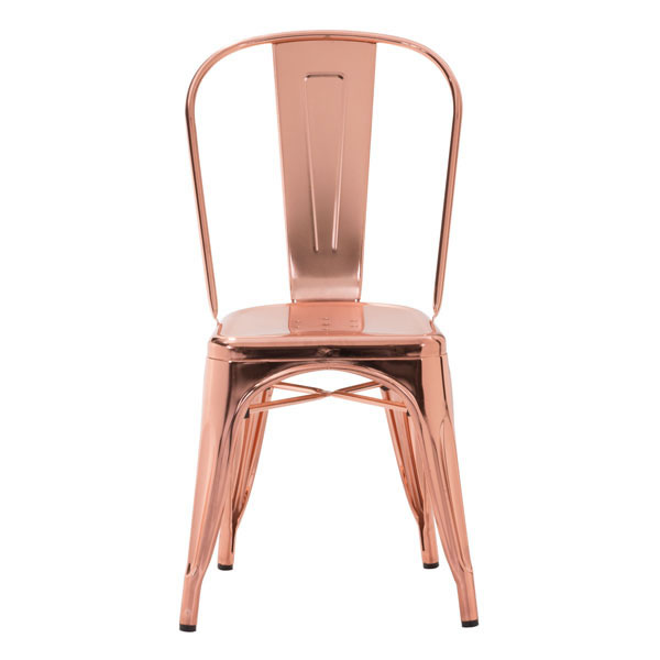 Rose Gold Cooper Chair 3