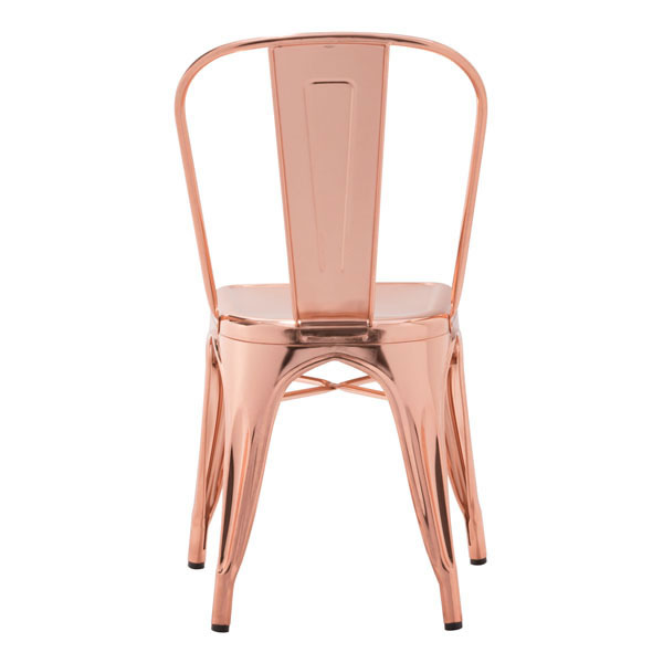 Rose Gold Cooper Chair 4