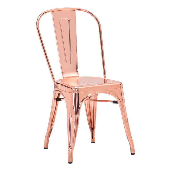Rose Gold Cooper Chair