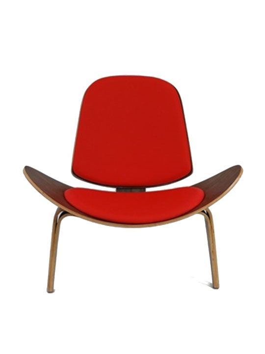 SLS Chair Red Leather Seating