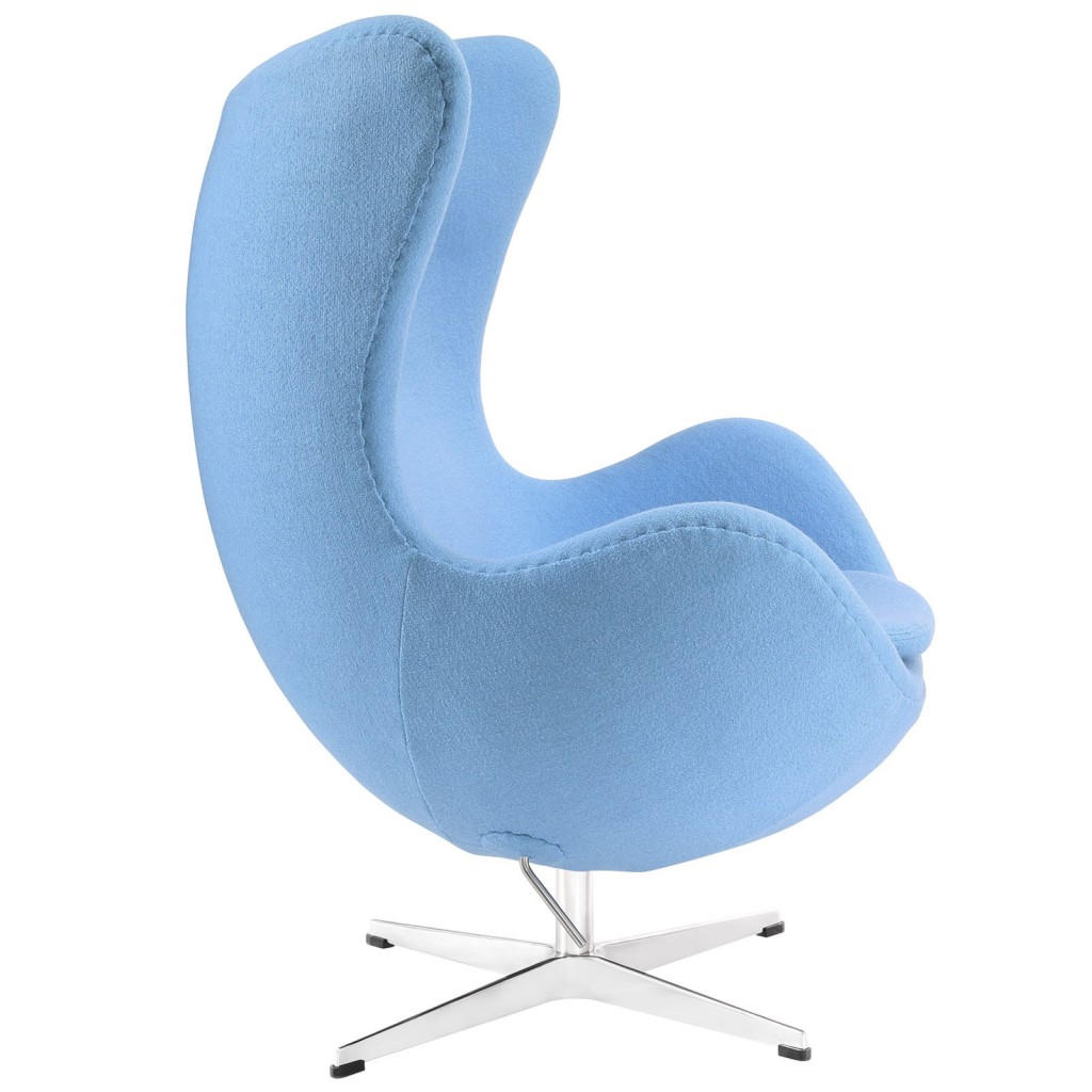 Sky Blue Magnum Wool Chair 1