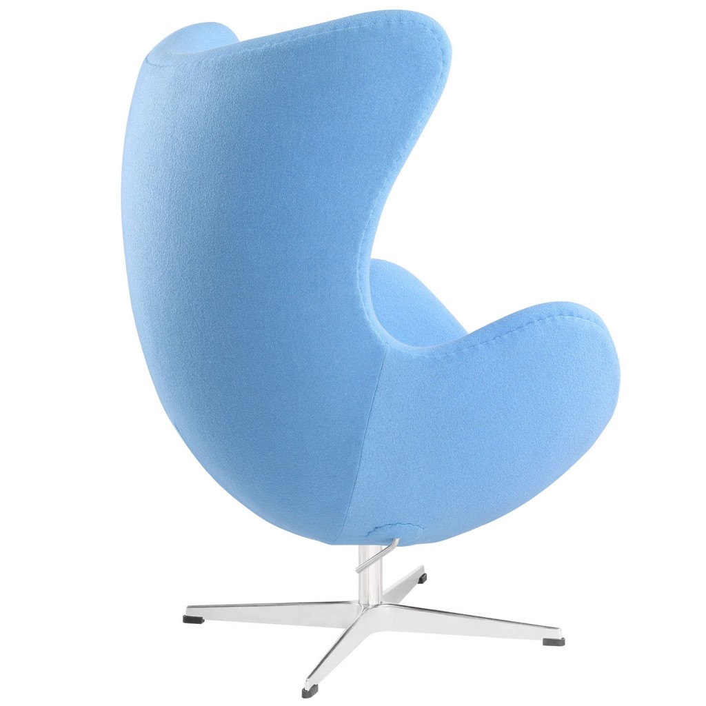 Sky Blue Magnum Wool Chair 2