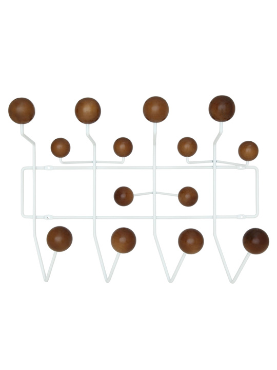 Spot Wood Coat Rack