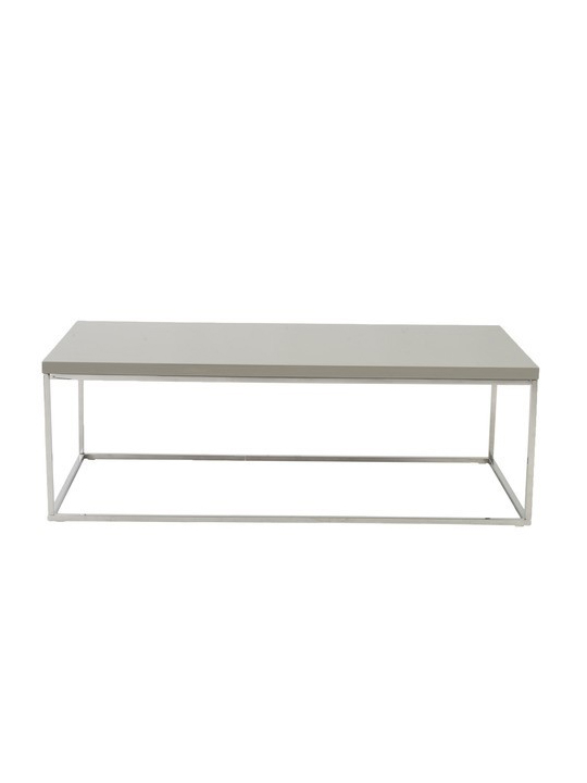 Tan Float Rectangular Coffee Table
