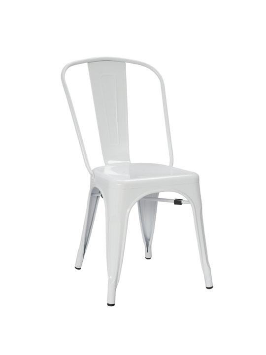 Tonic Metal Chair White