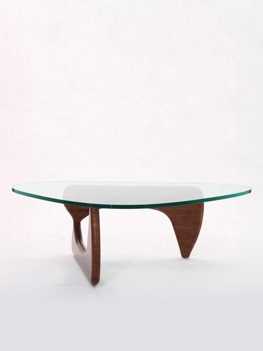 Triangle Wood Coffee Table 1