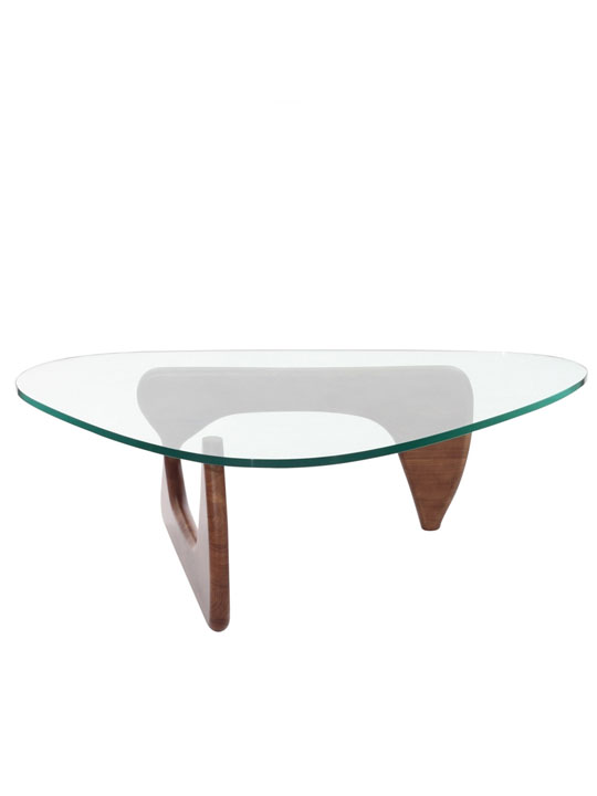 Triangle Wood Coffee Table1