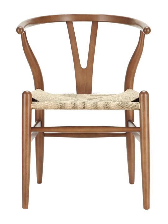 Walnut Hemp Chair