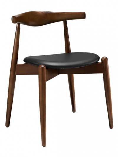 Walnut and Black Marfa Chair e1435092681126