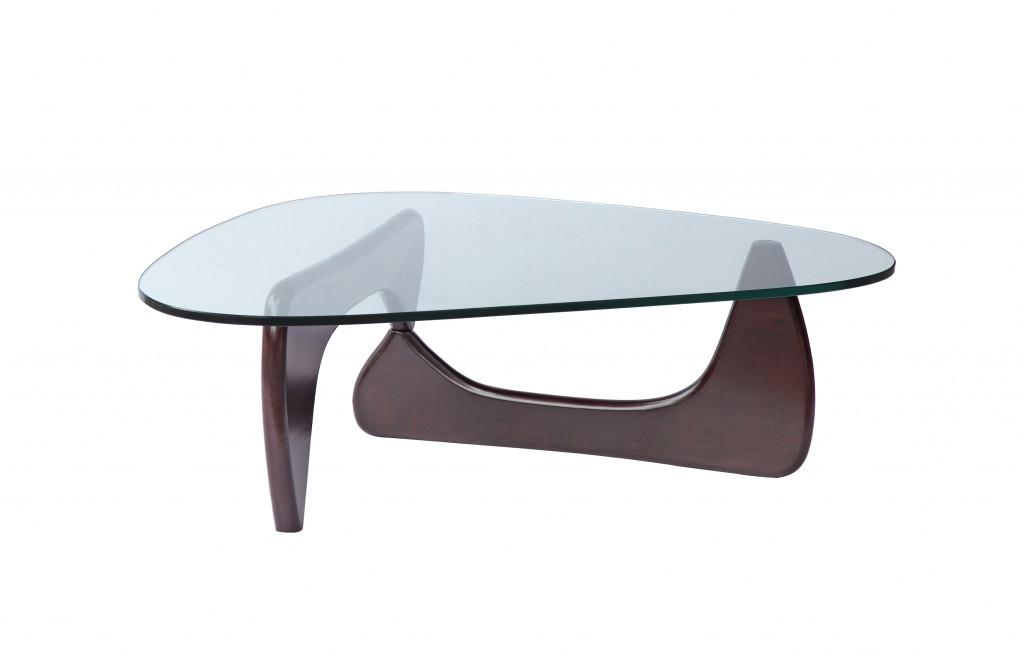 Wenge Wood Triangle Coffee Table 3