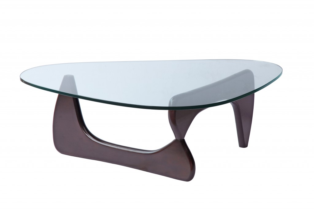 Wenge Wood Triangle Coffee Table 4
