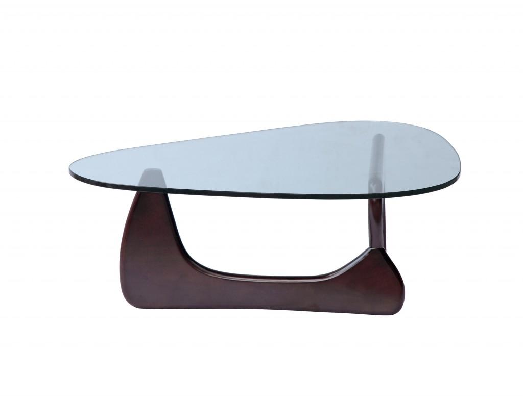 Wenge Wood Triangle Coffee Table 5