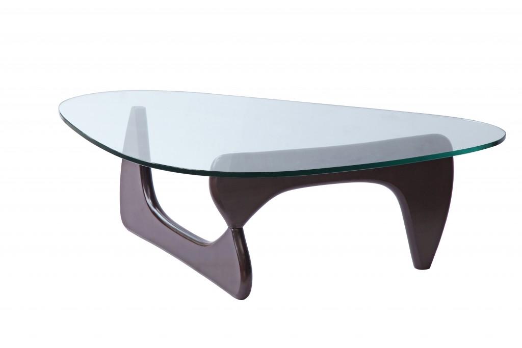 Wenge Wood Triangle Coffee Table 6