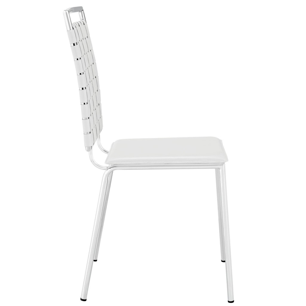 White Area Chair 2