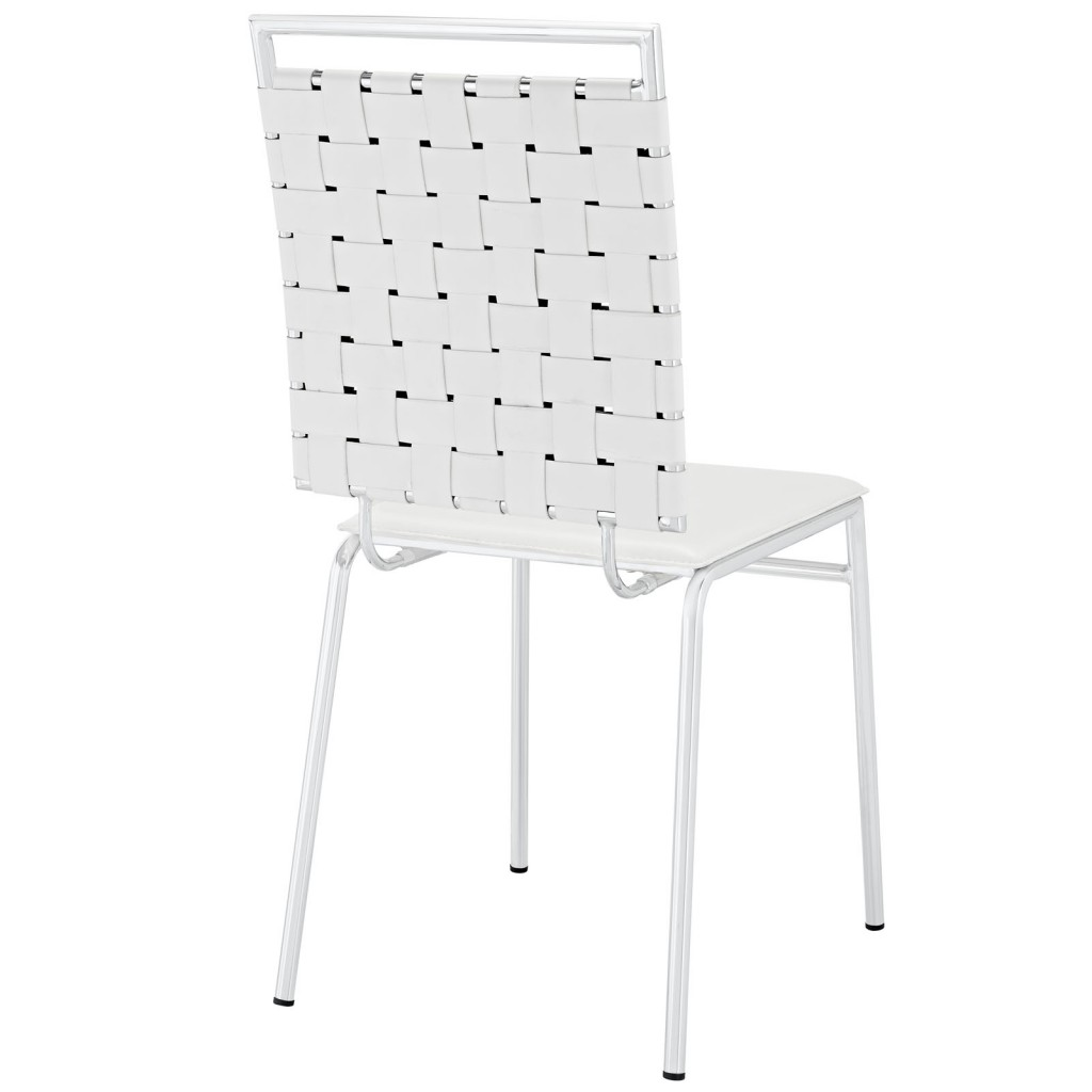 White Area Chair 3