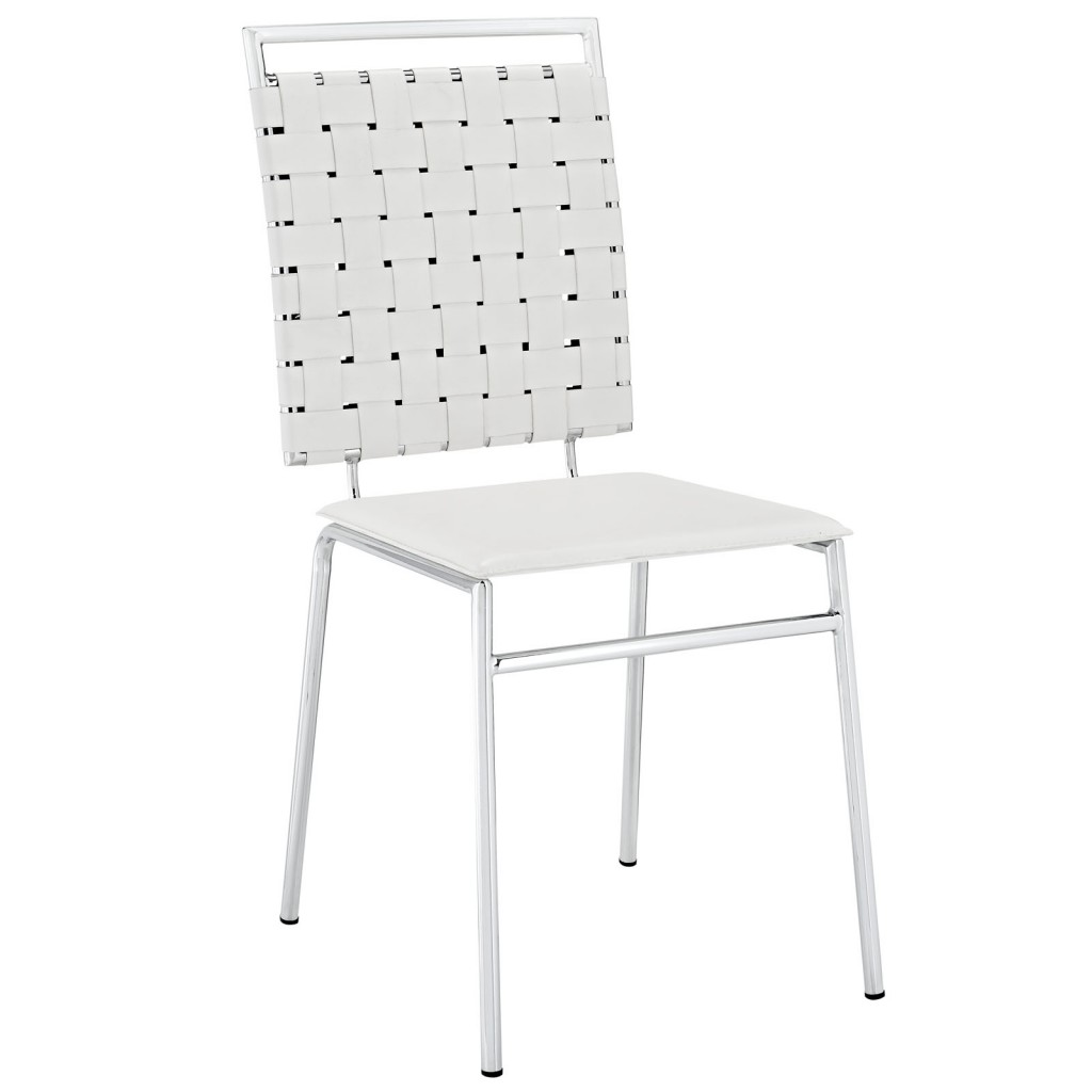White Area Chair