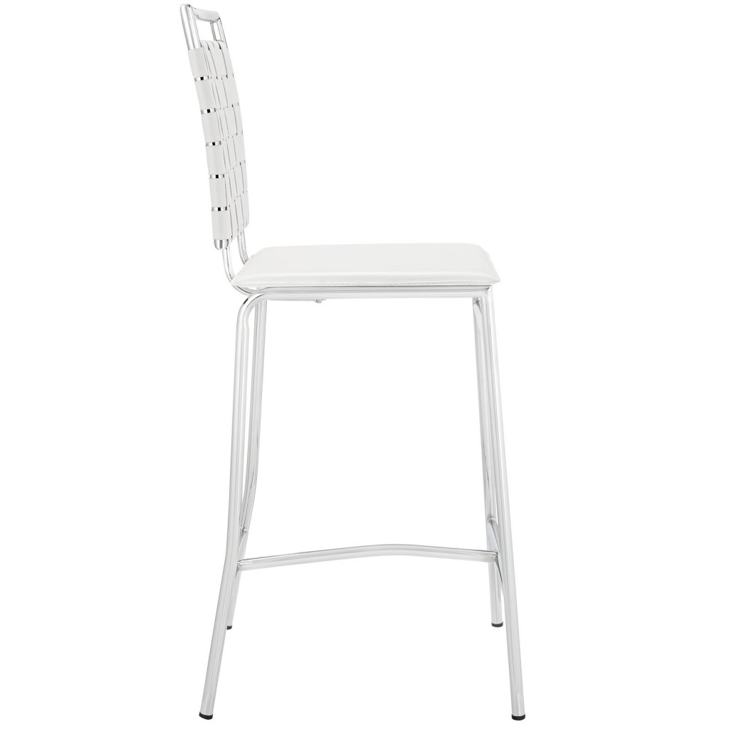 White Area Counter Stool 2