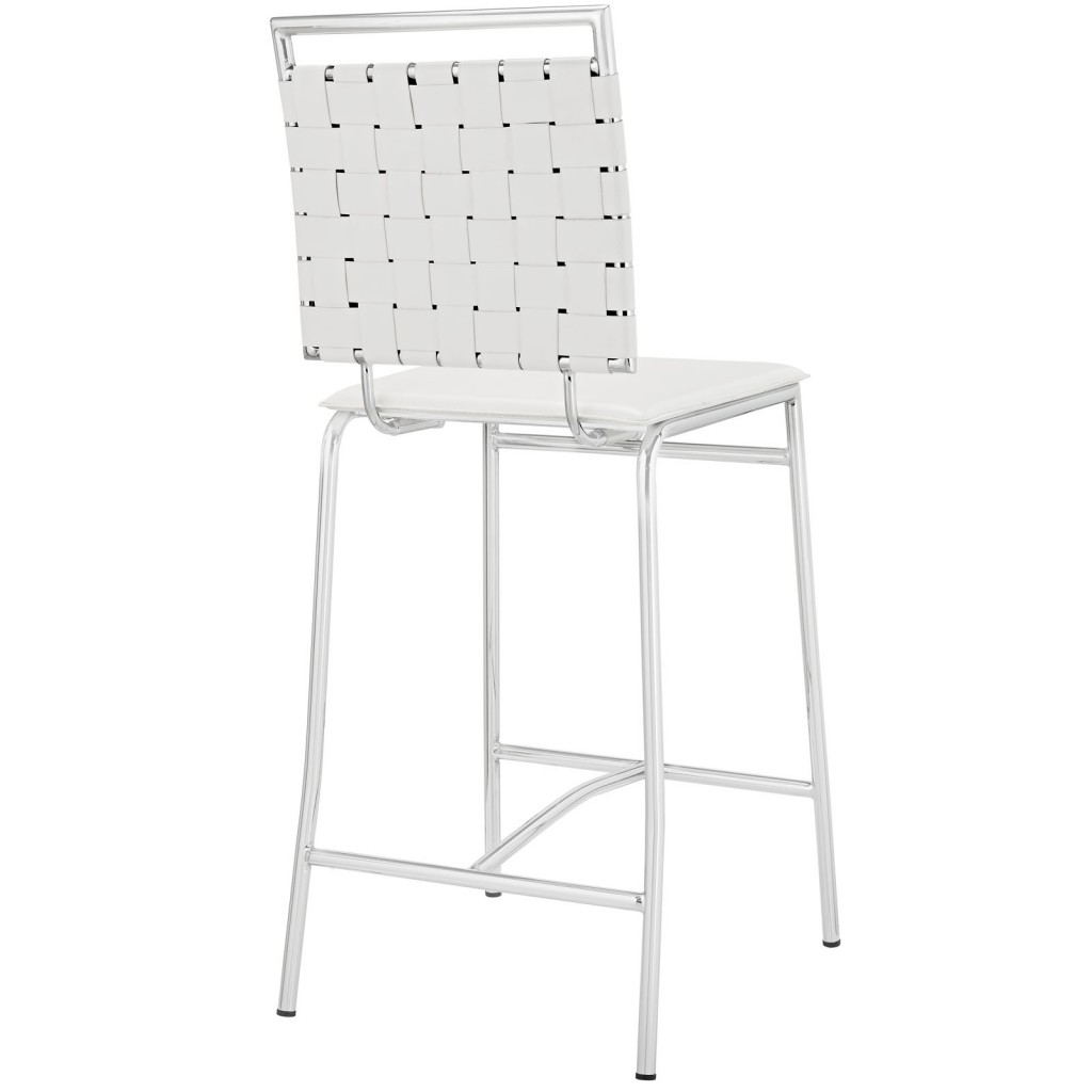 White Area Counter Stool 3