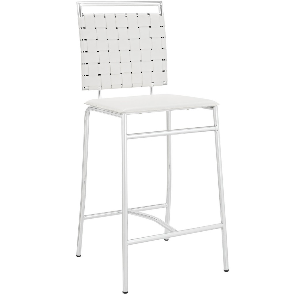 White Area Counter Stool