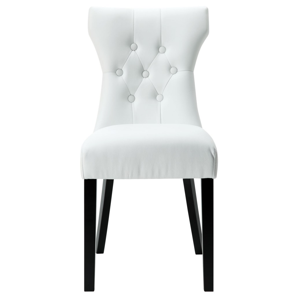 White Bally Dining Chair