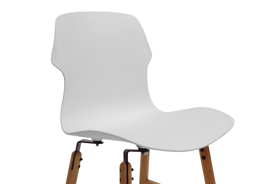 White Bolt Dining Chair 2