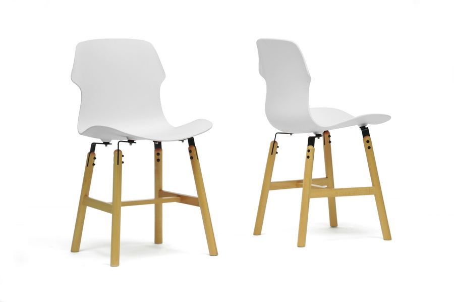 White Bolt Dining Chair 3