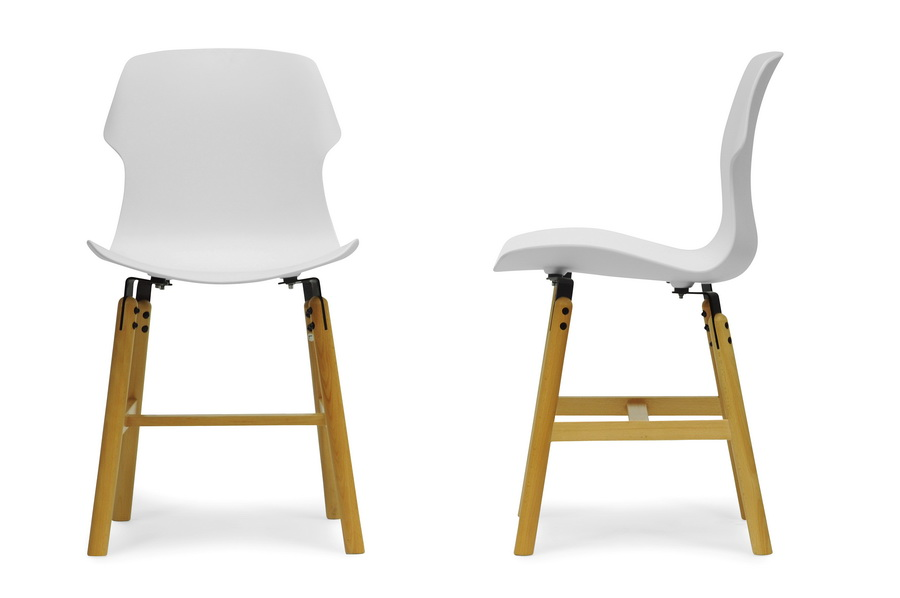 White Bolt Dining Chair