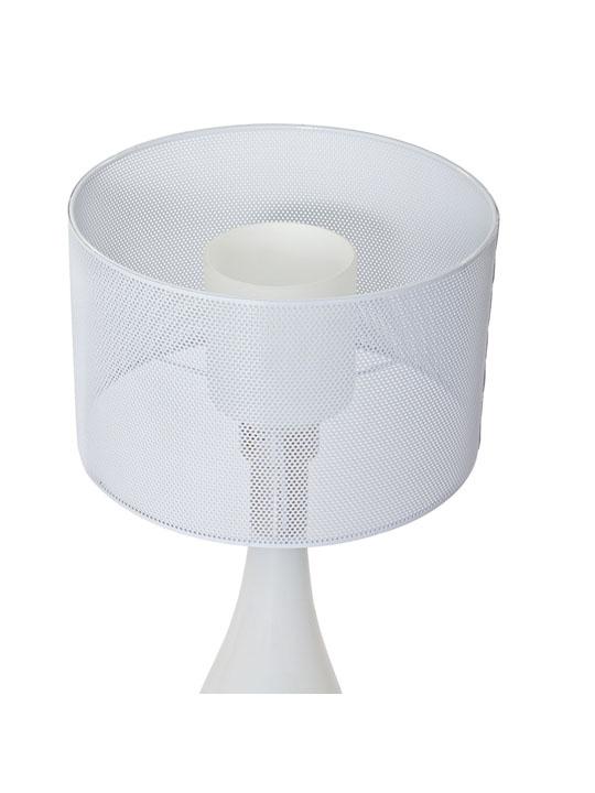 White Bubble Table Lamp 2