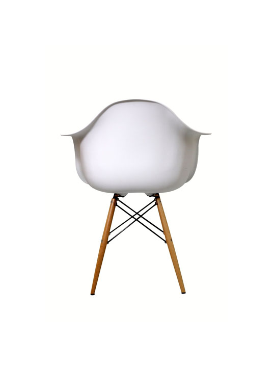 White Ceremony Wood Armchair 4
